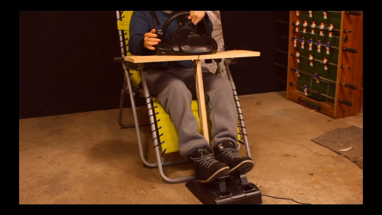 DIY 0 Steering Wheel Mount in 20 min  Easy and Quick