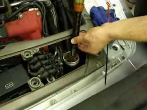 maserati oil service 9 - youtube