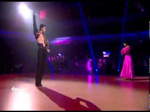 DWTSME - Rima Fakih dancing Paso Doble to