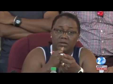 MINISTER BROOMES WARNS MINING COMPANIES