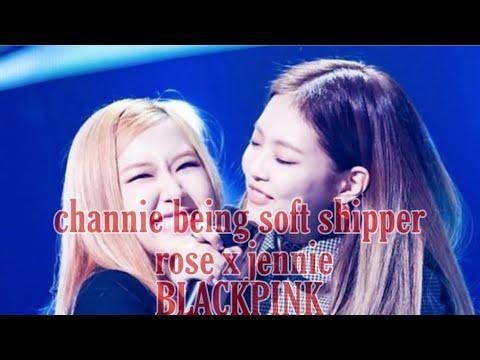 Channie Being Soft Ship - Jennie X Rose #channie #blackpink