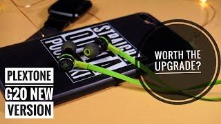 Plextone G20 Gaming Earphone New Version In Ear Magnet L Shaped Jack