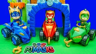 PJ Masks Power Of Mystery Mountain Playset with Paw Patrol