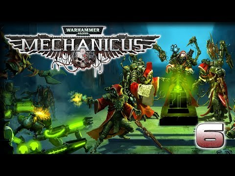 Protection Detail – Warhammer 40,000 #Mechanicus Gameplay – [Stream VOD] Part 6