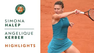 Simona Halep vs Angelique Kerber - Quarter-Final Highlights I Roland-Garros 2018 thumbnail