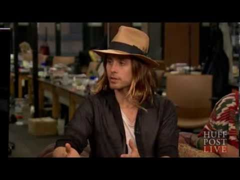 Thirty Seconds To Mars - HuffPostLive Interview 8.26.2013