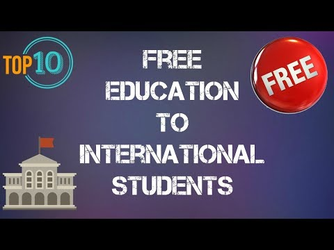 ✔ Top 10 countries that offer free education to international students