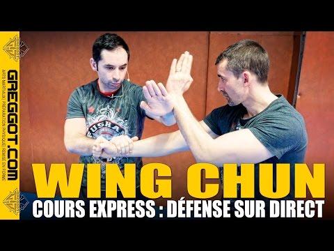 WING CHUN - Cours Express : Défense sur Direct