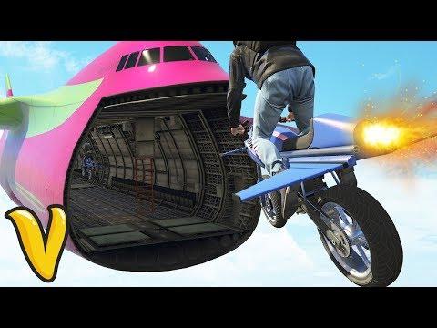 RAKIETOWY MOTOCYKL I BUNKRY W GTA ONLINE! / DEV