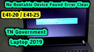How to reset lenovo e41 laptop to factory defaults