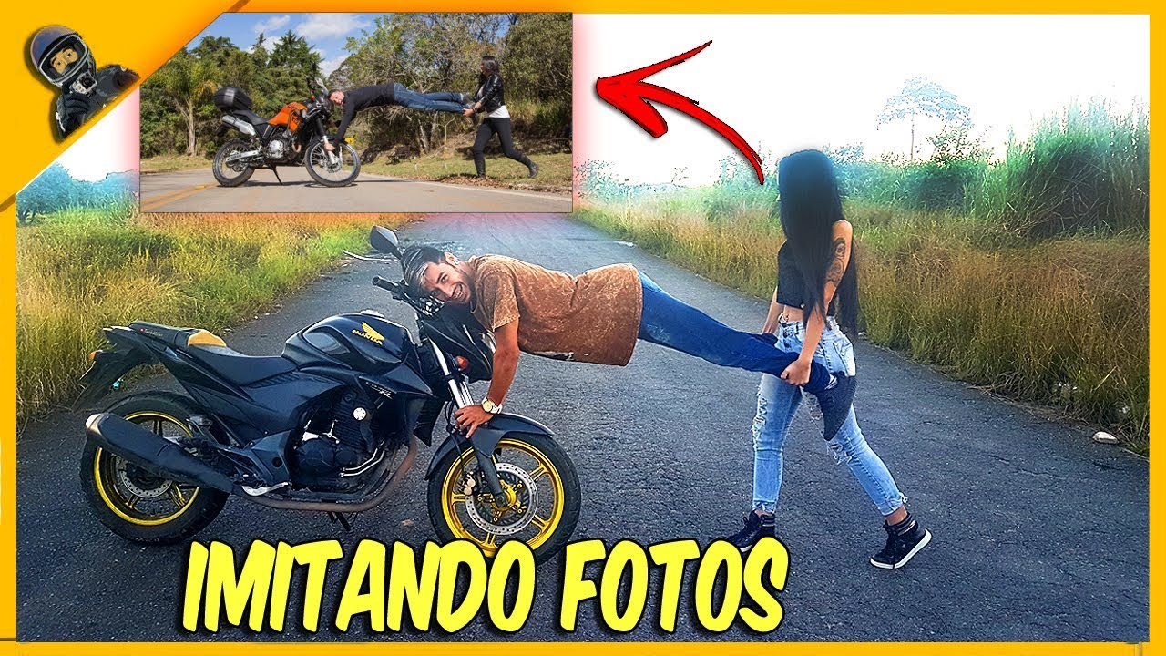 [VIDEO] - IMITANDO FOTOS TUMBLR DE CASAL DE MOTO 6