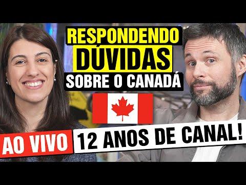 RESPONDENDO DÚVIDAS SOBRE O CANADÁ [AO VIVO] - LIVE CANADÁ DIÁRIO DE 12 ANOS DE CANAL!