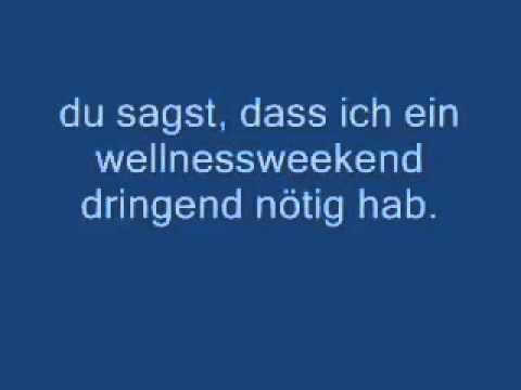 wise guys-denglisch (lyrics on screen)