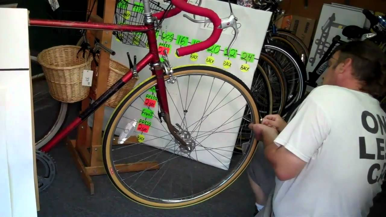 How to Measure a Bicycle Wheel