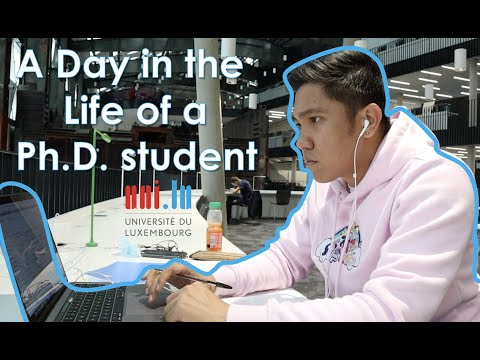 A Day in the Life of a PhD Student (Université du Luxembourg) | Episode #1