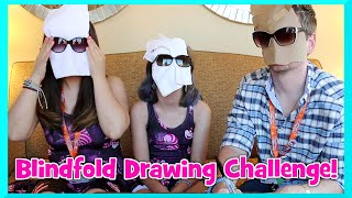 Challenge! - Blindfold Drawing with Dollastic and Chad Alan