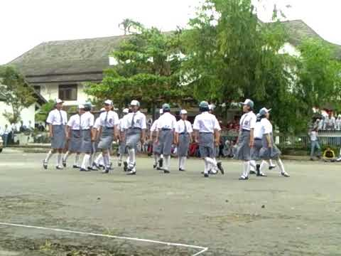 Paskibra SMK TAMAN SISWA Variasi Ter Unik Gundul gundul Pacul