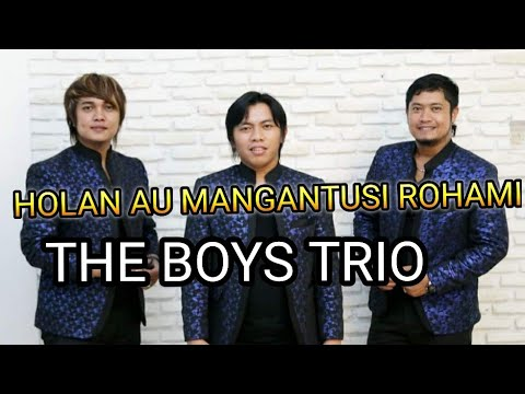 HOLAN AU MANGANTUSI ROHAMI THE BOYS TRIO LIVE CHAMPION CAFE