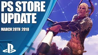 PlayStation Store Highlights - 28th March 2018