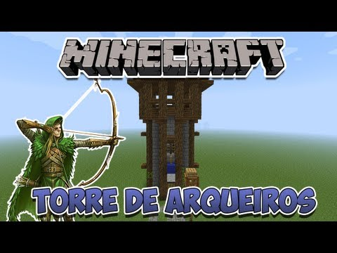 download video minecraft torre de arqueiros. Black Bedroom Furniture Sets. Home Design Ideas