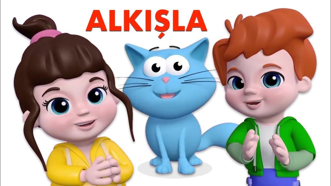Kediyi Seviyorsan Alkışla - Eğlenceli Bebek Şarkıları - Mini Anima