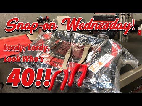 SNAP-ON WEDNESDAY! - Birthday Edition...The Big 40!