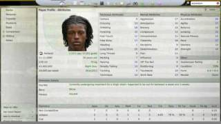 Football Manager 2008 Wonderkid
