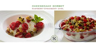 Cheesecake Sorbet Recipe –Bruno Albouze –THE REAL DEAL