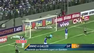 Las Noticias - Las Noticias - Trasciende que Ronaldinho firmó con el Club Querétaro