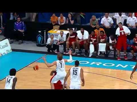 Pan Am Games 2015. Basketball. Semifinals. USA - Canada 24.07.15