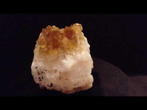 Gemstones: ЦИТРИН / Citrine Specimen From Brazil