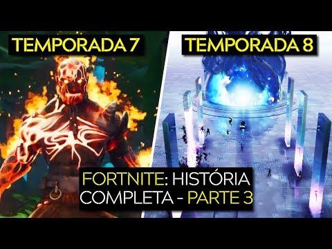 FORTNITE HISTÓRIA COMPLETA DAS TEMPORADAS | PARTE 3