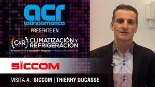 Visita a Siccom durante Climatización y Refrigeración, Madrid 2019
