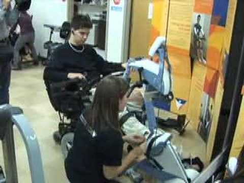Bike Opens Fitness Options For Users With Disabilities Youtube