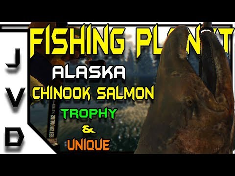 Fishing Planet Biggest Fish Species In Alaska | Kaniq Creek | Trophy & Unique Chinook Salmon Guide