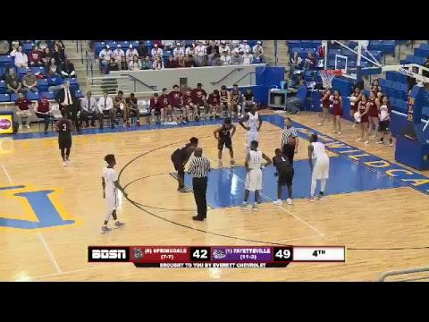 Arkansas 7A Boys State Basketball | Springdale vs. Fayetteville