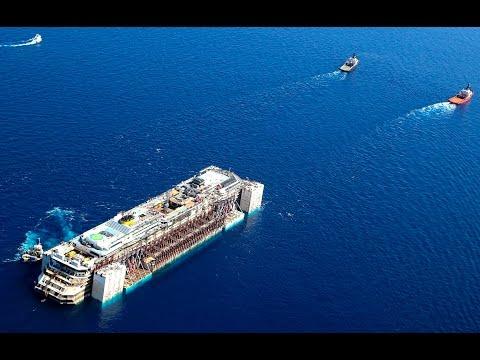 Costa Concordia towed to Genoa for scrap