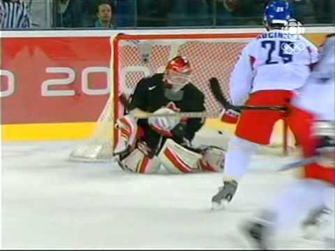 2006 Winter Olympics - Men's Hockey - Canada vs Czech Republic