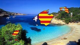 Speedart #1 - Flag Map of the Balearic Islands