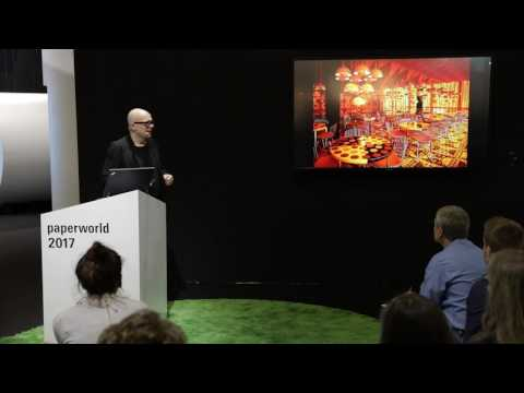 «Büro der Zukunft | Future Office» an der Paperworld 2017 in Frankfurt am Main – Peter Ippolito