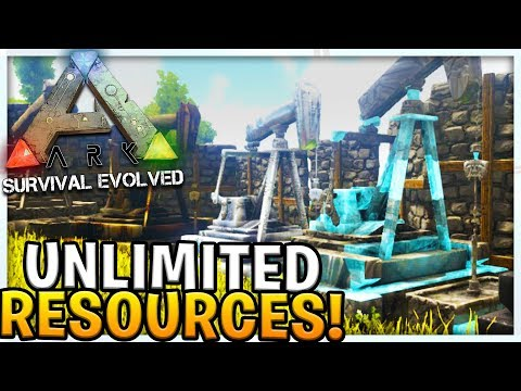 UNLIMITED RESOURCES MOD - MODDED ARK SURVIVAL EVOLVED SCORCHED EARTH #4