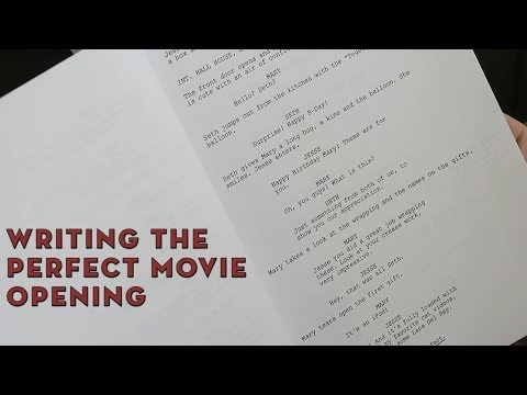 Writing The Perfect Movie Opening | Screenwriting