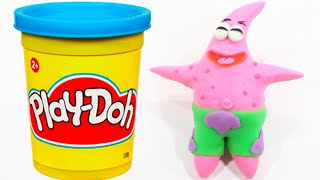 Stop Motion Spongebob Patrick Play Doh Animation [4K]