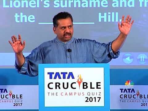 Tata Crucible The Campus Quiz 2017 East Zone Final Part 3