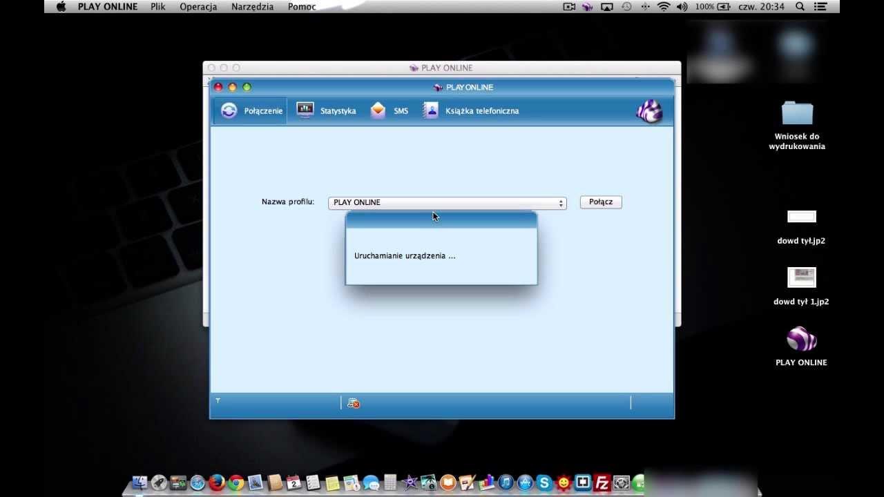 Jak uruchomić Huawei E3131 na Mac OS X Apple