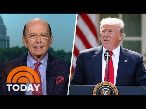 Secretary Of Commerce Wilbur Ross: President Trump Is An Environmentalist | TODAY