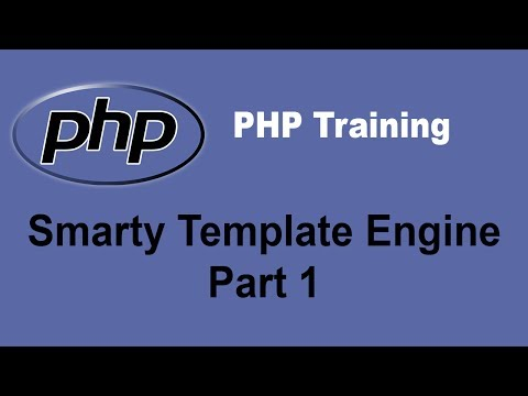 PHP Smarty Template Engine Tutorial