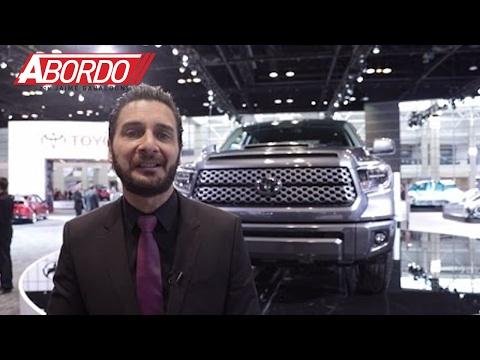 Toyota presenta a la Tundra y Sequoia TRD Sport durante el Auto Show de Chicago
