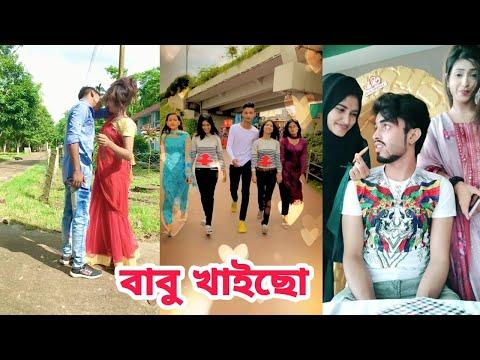 Bangla New Funny Tiktok and Musical Video বাবু খাইছো ৷ Bangla Likee Video ৷ বাংলা টিকটক ৷ SK LTD
