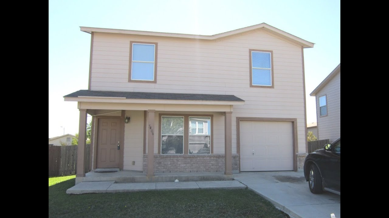 Low price 4 bed 2 story home for sale san antonio tx near isd smart cash homes youtube for Three bedroom townhomes for rent